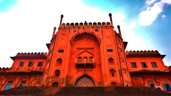 Architecture Art Print featuring the photograph #entrance Gate by Aakash Pandit