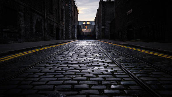 Architecture Art Print featuring the photograph Guinness Storehouse Gate - Dublin, Ireland - Travel Photography by Giuseppe Milo