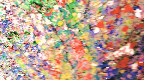 Floral Art Print featuring the painting Impressionistic Floral Fantasy by Anne-Elizabeth Whiteway