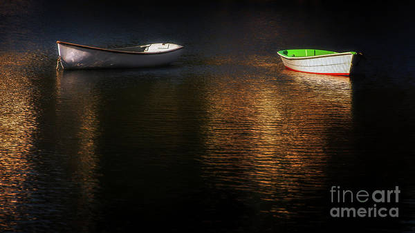 Boat Art Print featuring the photograph Late Afternoon Disagreement by Scott Thorp