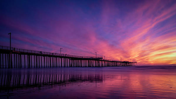 Pismo Art Print featuring the photograph Pismo's Palette by Sean Foster