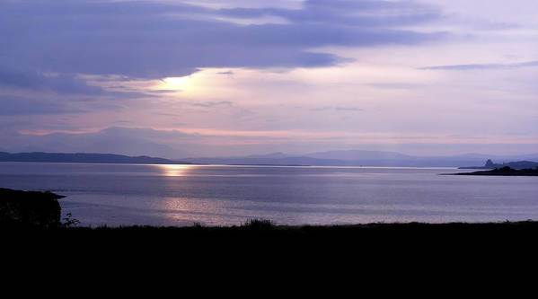 Landscape Art Print featuring the photograph Sunrise Over The Mainland by Mary Lane