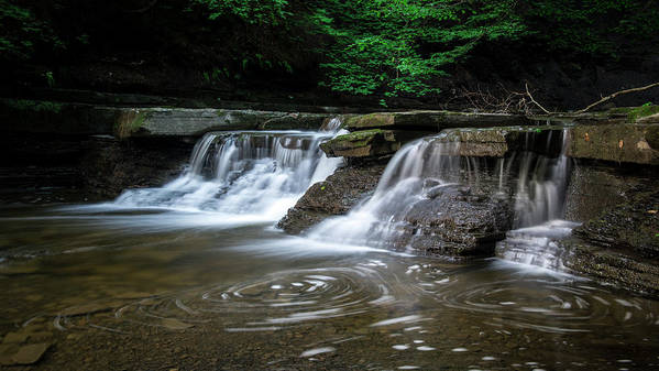 Waterfall Art Print featuring the photograph Waterfall by Jeffrey House