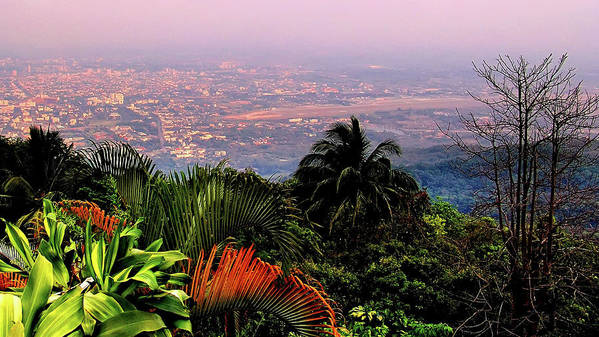 Scenics Art Print featuring the photograph Chiang Mai by Davidhuiphoto