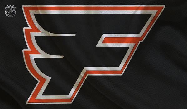 Flyers Art Print featuring the photograph Philadelphia Flyers by Joe Hamilton