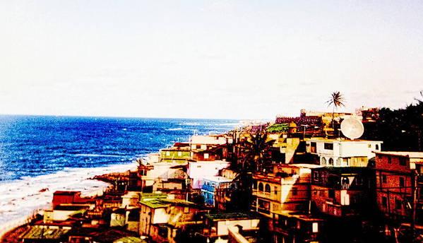 Digital Art Print featuring the photograph The Pearl Of Old San Juan by Sandra Pena de Ortiz