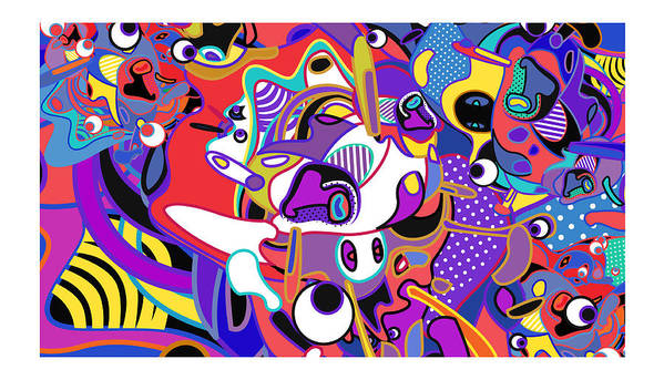 Colorful Art Background Abstract Wallpaper