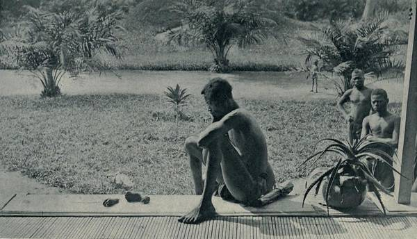 History Art Print featuring the photograph Atrocities Of The Rubber Slavery by Everett