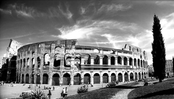 City Art Print featuring the photograph Colloseum by Hilthart Pedersen
