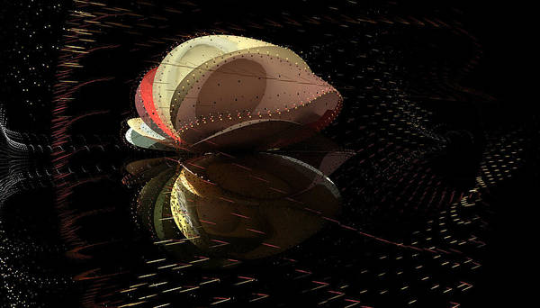 Aiden Humphrey Art Print featuring the digital art Incendo 1 by Aiden Humphrey