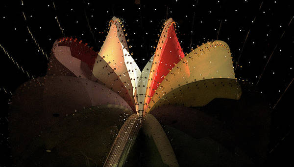 Aiden Humphrey Art Print featuring the digital art Incendo 2 by Aiden Humphrey