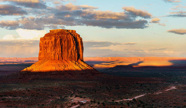 Monument Valley Art Print featuring the photograph Monument Valley by Prashant Thumma