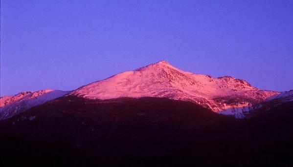 Mount Adams Art Print featuring the photograph Mount Adams At Sunrise by John Burk