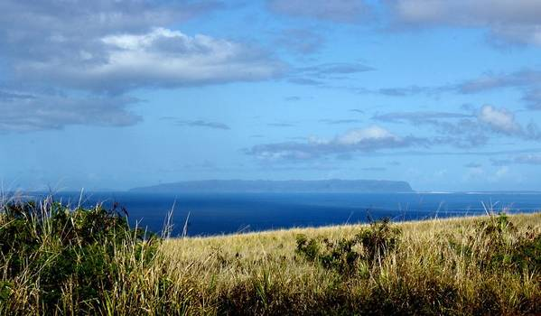 Niihau Art Print featuring the photograph Niihau Island by Annie Babineau