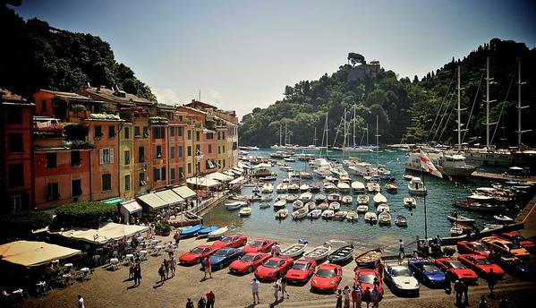 Sunday Morning Art Print featuring the photograph Portofino Italy by Bobby Bouchikhi