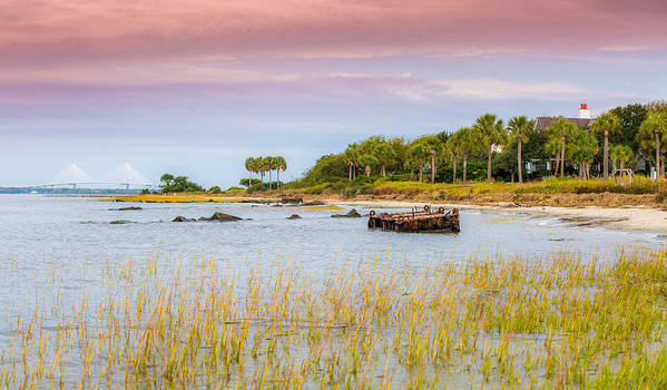 Sullivan's Island Art Print featuring the photograph Southern Living - Sullivan's Island Sc by Donnie Whitaker
