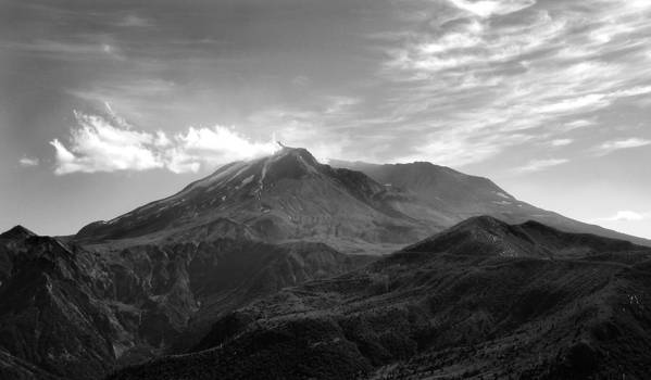 Landscape Art Print featuring the photograph St. Helens by Ty Nichols