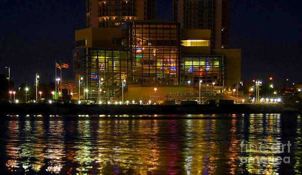 Tampa Bay History Center Art Print featuring the photograph Tampa Bay History Center by David Lee Thompson