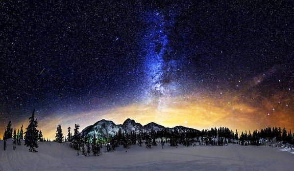 Stars Print featuring the photograph Under The Stars by Alexis Birkill