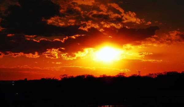 Sunset Art Print featuring the photograph Yesterday by Kendall Eutemey