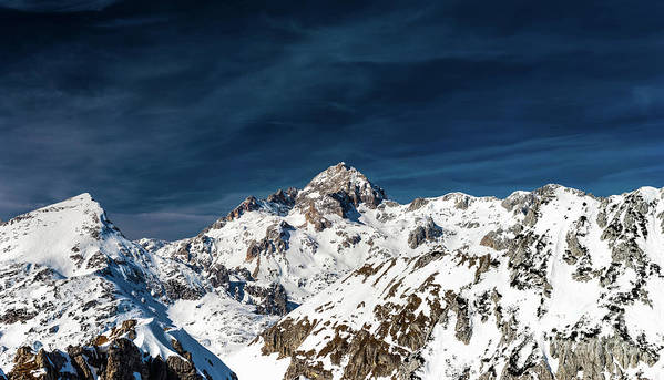 Gigapixel Art Print featuring the photograph Gigapixel Photograph Of Mountain Triglav, Slovenia by Patrik Lovrin