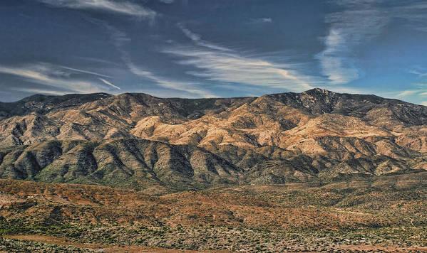 Arizona Art Print featuring the photograph Arizona Lonesome by Carolyn Fletcher