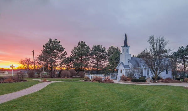 Sycamore Art Print featuring the photograph Chapel In The Pines by Jason Borg