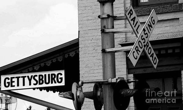 History Art Print featuring the photograph Honest Abe's Whistle Stop by Cindy Manero
