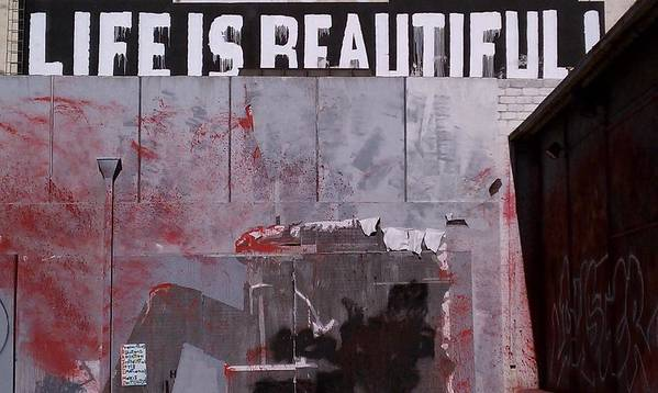 Life Is Beautiful Art Print featuring the photograph Life Is Beautiful by Carolyn Olney