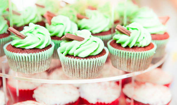 Bake Art Print featuring the photograph Cup Cakes by Tom Gowanlock