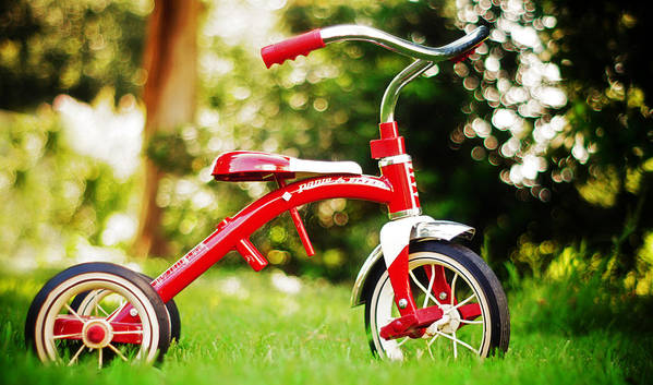 Radio Flyer Art Print featuring the photograph Radio Flyer Dreams by Southern Tradition