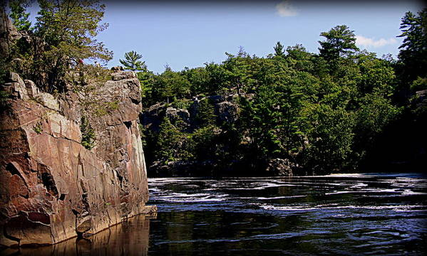 St Croix River Photographs Art Print featuring the photograph St. Croix River Bluffs by Tam Graff