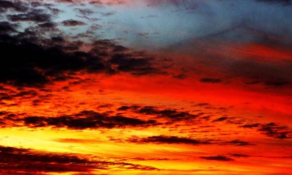 Sunset Art Print featuring the photograph Sublime And Wonderful by Ami Tirana