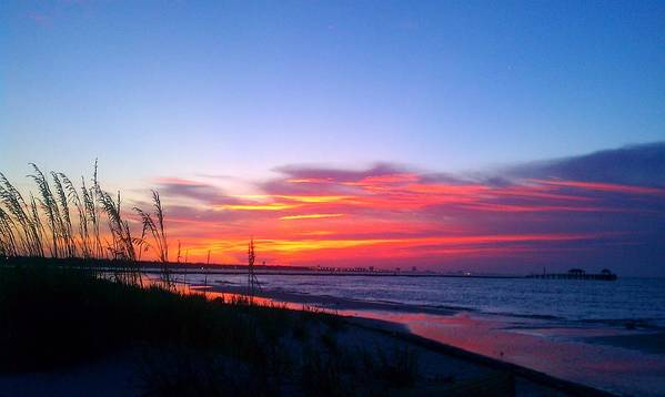 Sunrise Art Print featuring the photograph Thank You Lord by Brian Wright