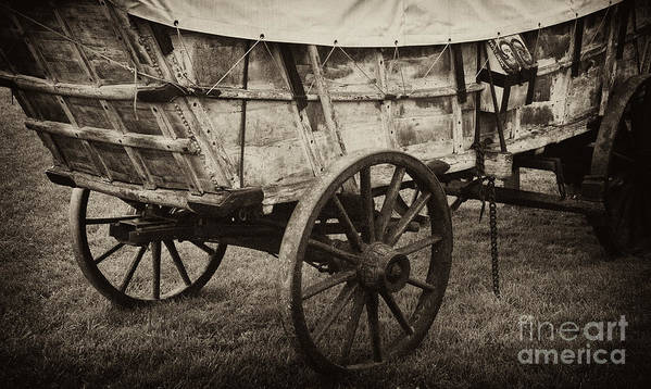 Wagon Art Print featuring the photograph The First Station Wagons by Paul W Faust - Impressions of Light