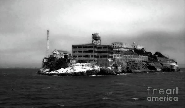 Alcatraz Art Print featuring the photograph Alcatraz by Gregory Dyer