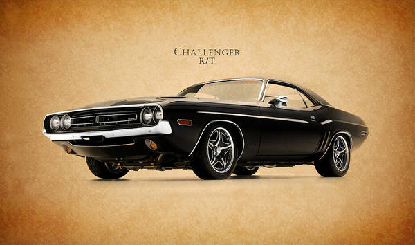 Dodge Challenger Art Print featuring the photograph Dodge Challenger by Mark Rogan