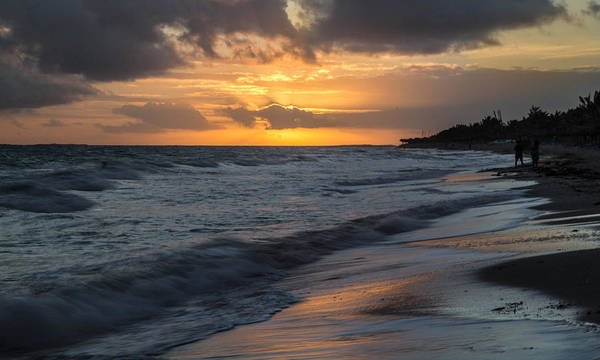 151020 Cuba Varadero Grand Memory Art Print featuring the photograph Mornings On The Beach by Nick Mares