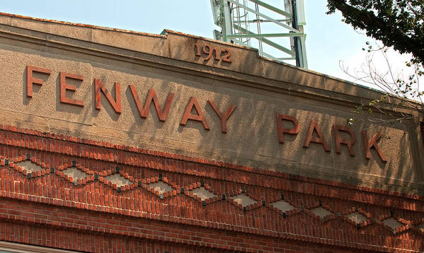 fenway Park Art Print featuring the Welcome To Fenway Park by Paul Mangold
