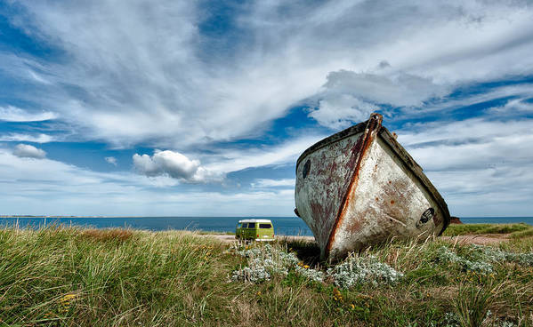 Boat Art Print featuring the photograph Natural Habitat by PNDT Photo