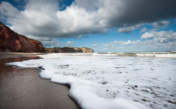 Tide.water.wave.sea Art Print featuring the photograph Tide by PNDT Photo