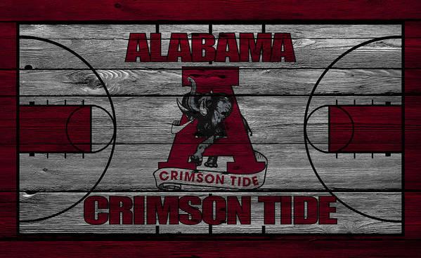 Crimson Tide Art Print featuring the photograph Alabama Crimson Tide by Joe Hamilton