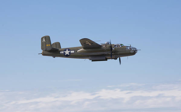 Images In Light Art Print featuring the photograph B-25j by Ross Murphy