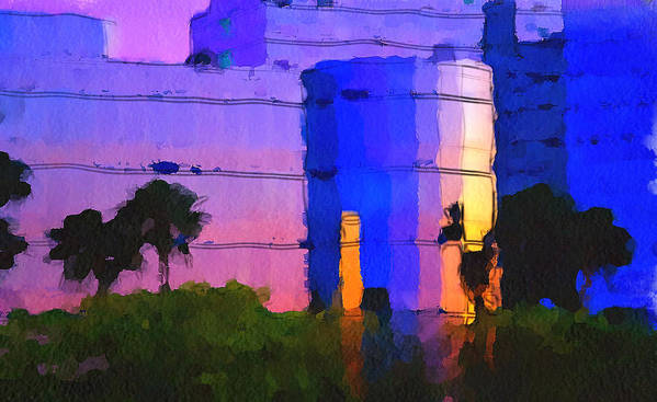 Skyline Art Print featuring the digital art Do You Want To Work Here? by Yury Malkov
