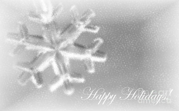 Snowflake Art Print featuring the photograph Free Falling by Living Color Photography Lorraine Lynch