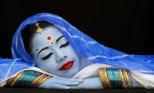 Hindu Art Print featuring the photograph iDream by Tim Gainey