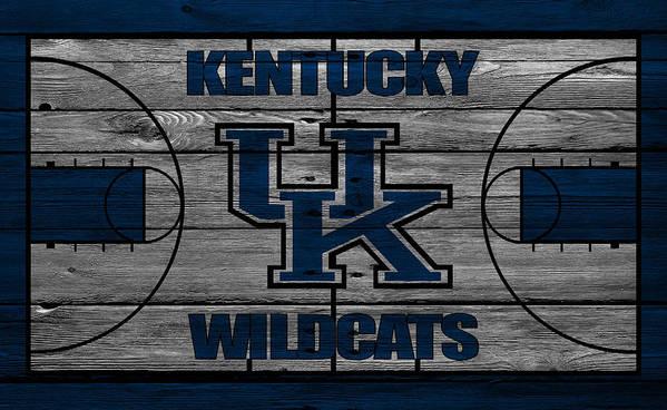 Wildcats Art Print featuring the photograph Kentucky Wildcats by Joe Hamilton