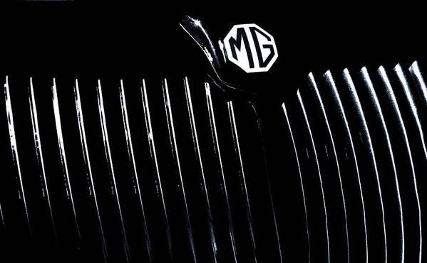 Car Art Print featuring the photograph MG by Joslin Hartley