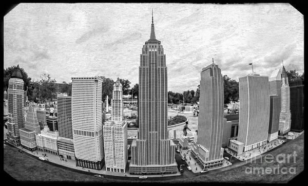 Florida Print featuring the photograph New York City Skyline - Lego by Edward Fielding