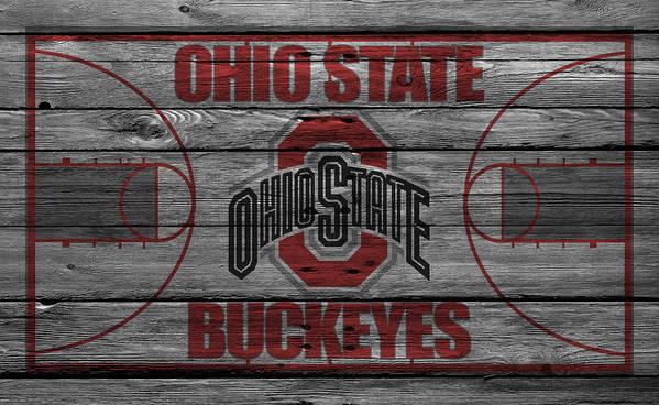 Buckeyes Art Print featuring the photograph Ohio State Buckeyes by Joe Hamilton